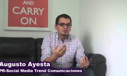 Augusto Ayesta – PR & Social Media Trend Comunicaciones