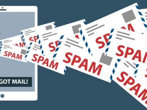 evite spam