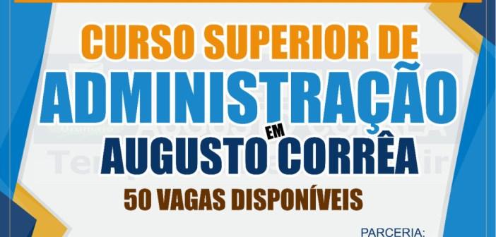 Augusto Corrêa vai receber Curso Superior de Administração da UFPA