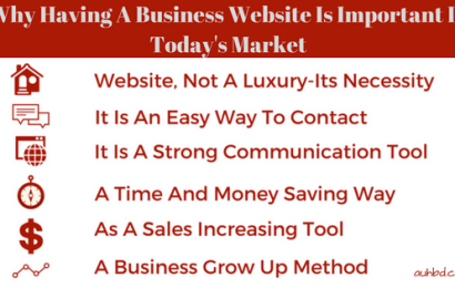 Why Having A Business Website Is Important In Today's Market