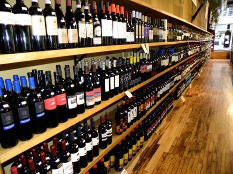 PRWS Wine Wall