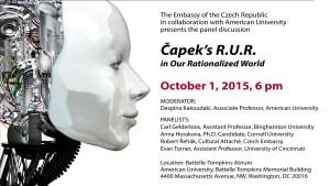 Capek's RUR at American University