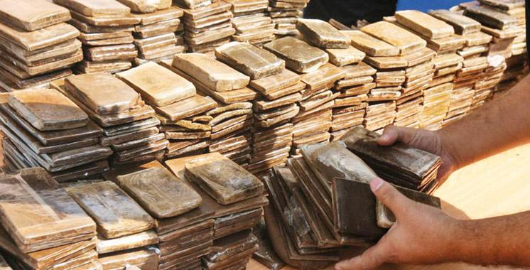 Settat-Bouznika: saisie de plus d'une tonne de drogue