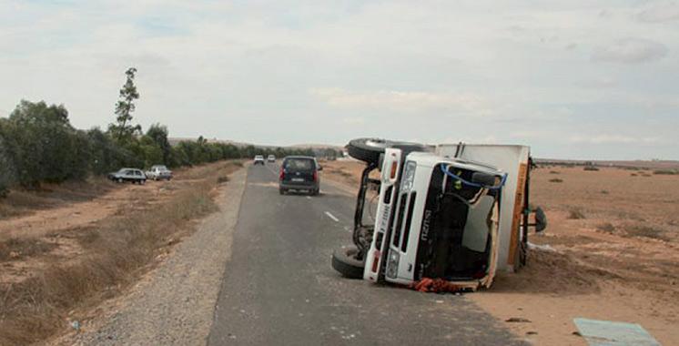 Province de Guelmim : 3 morts et 10 blessés dans un accident de la route