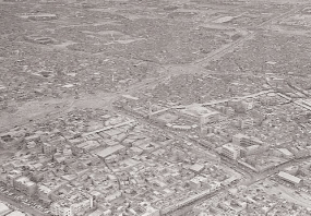 old aerial kuwait city
