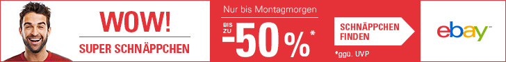 eBay WOW! Deals am Super-Wochenende