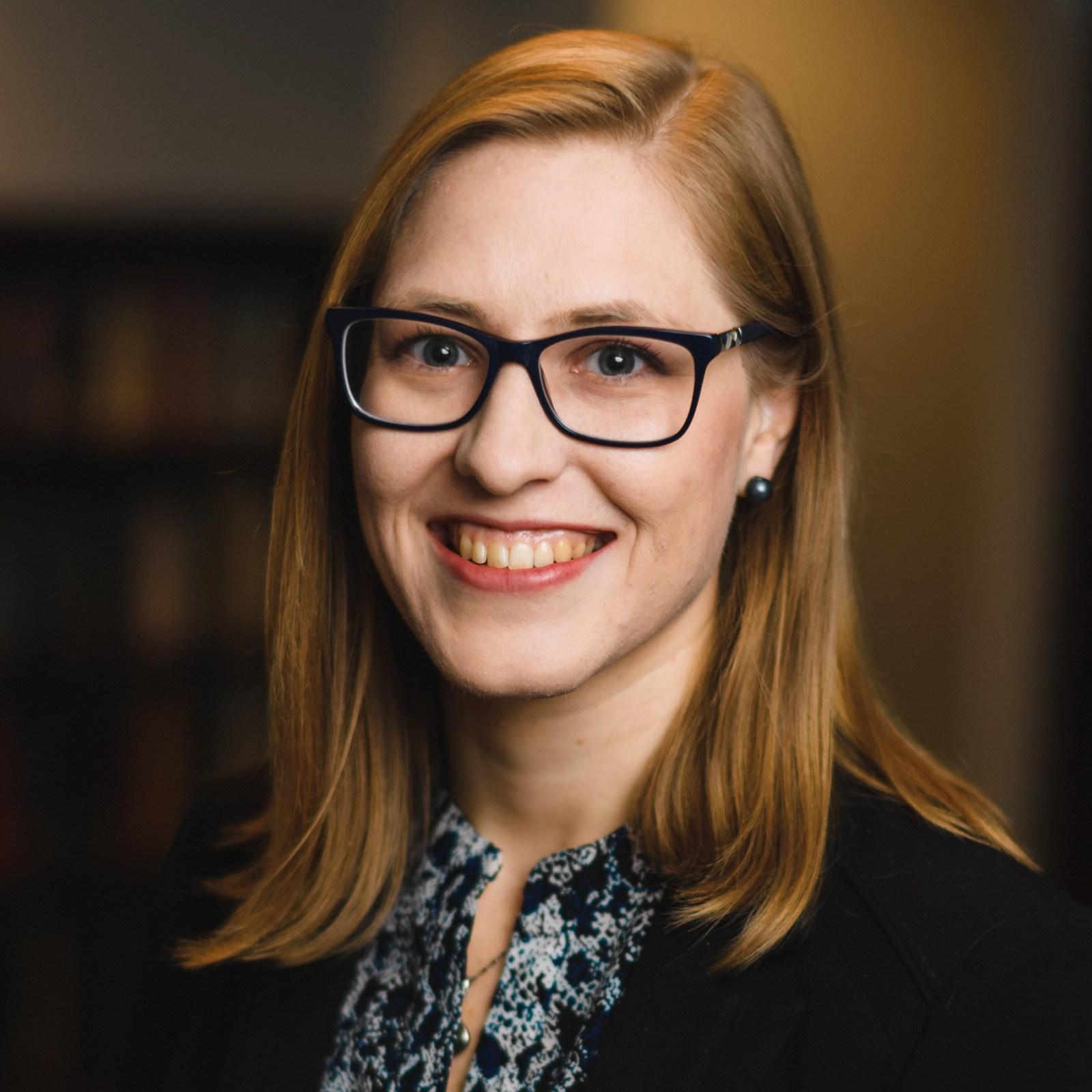 Headshot of Rachel Morrison, J.D.