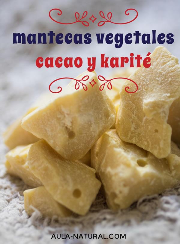 Mantecas vegetales