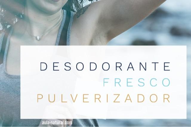 Desodorante fresco – pulverizador