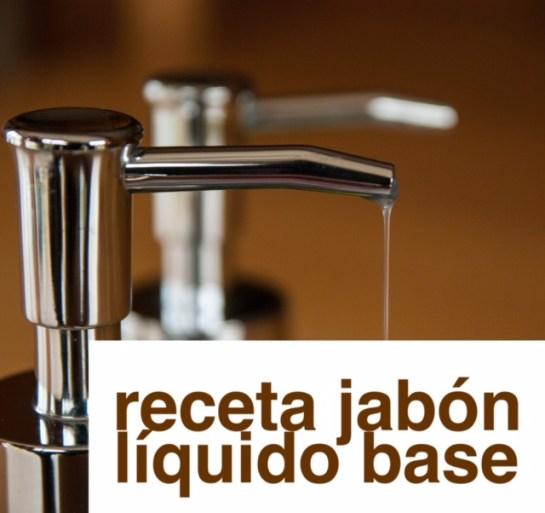 jabon liquido base