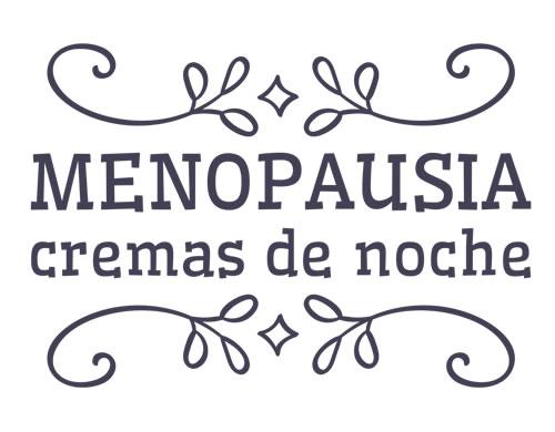 Menopausia: cremas de noche