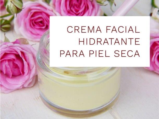 Crema hidratante facial para piel seca