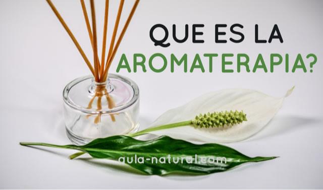 Aromaterapia: qué es?