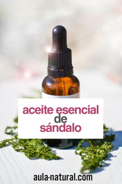 Propiedades y usos del aceite esencial de sándalo