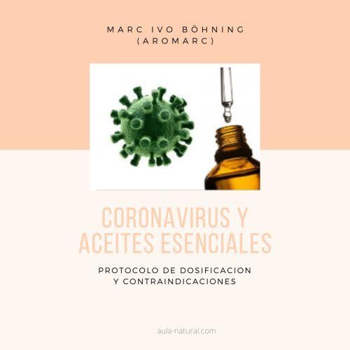 Coronavirus y aceites esenciales