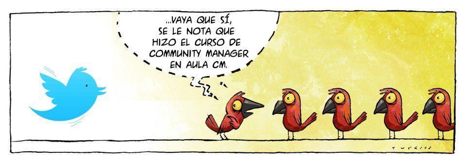 Curso de Community Manager en Madrid, por nuestro alumno Turcios