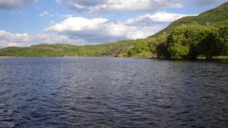 Orilla S del lago