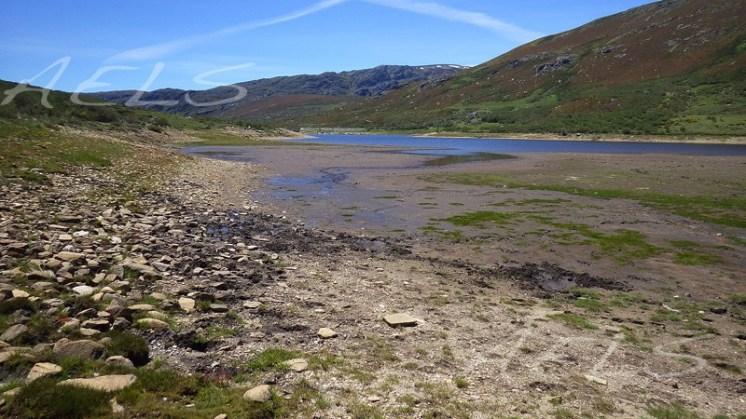 Erosividad del suelo en las orillas del embalse