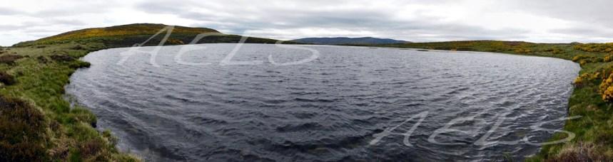 Laguna repleta de agua en junio