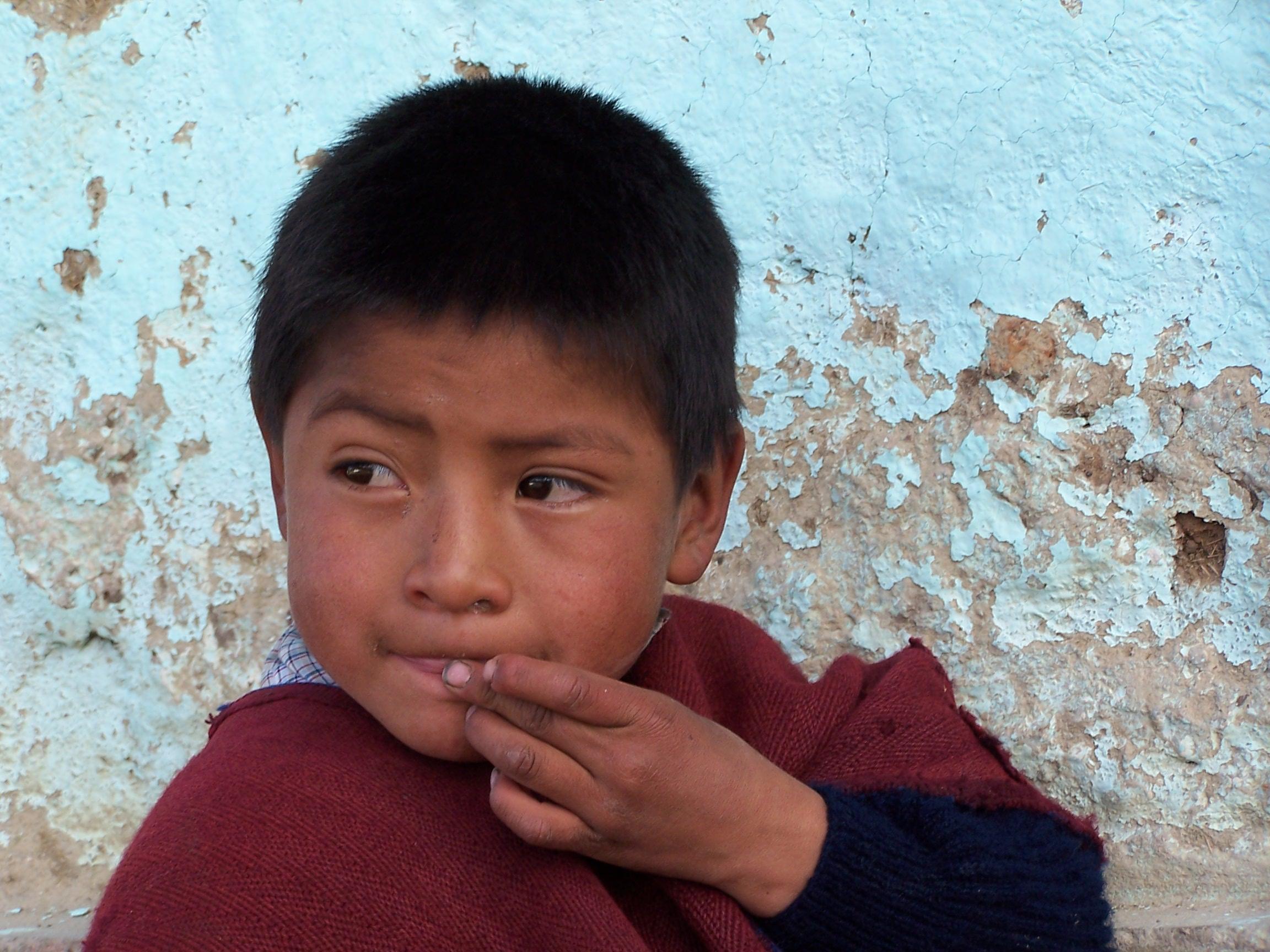 Resultado de imagen de niño peruano