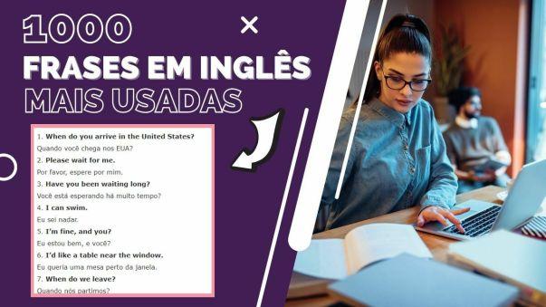 1000 frases em inglês mais usadas
