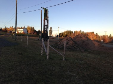 Well-drilling, 19 October
