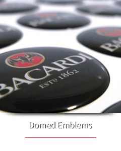 Domed Emblems