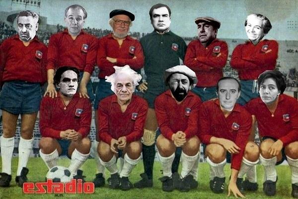 La gambeta de la poesía: selección de fútbol de poetas latinoamericanos
