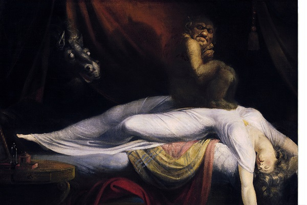 The Nightmare (1781) de John Henry Fuseli