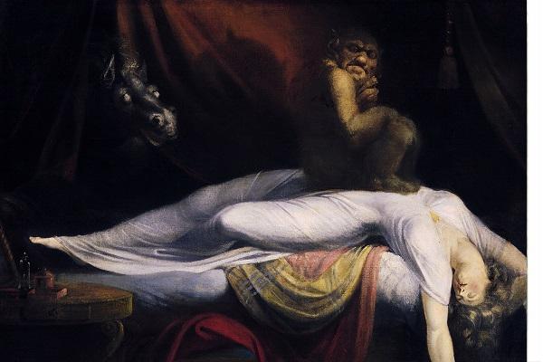 The Nightmare (1781) de John Henry Fuseli