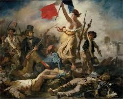 La Libertad guiando al pueblo.Delacroix (Louvre). Naturaleza Salvaje II: de la naturaleza contemplativa a la reforma rural. Ana González Serrano.