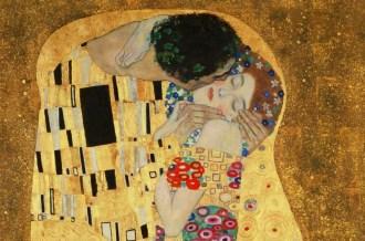 El beso.Klimt (Österreichische Galerie Belvedere).