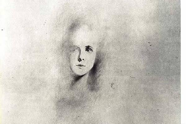Portrait imaginaire de Lautréamont à 19-ans (1937) de Salvador Dalí