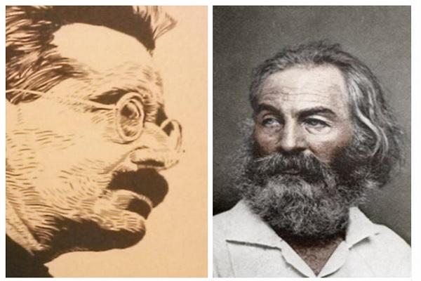 Consideraciones Benjaminianas en la poesía de Walt Whitman. Aullido literatura poesía. Cristian Stolarowa. Walter Benjamin.