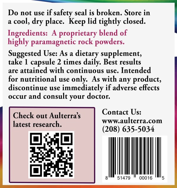 Aulterra Enhance product ingredients