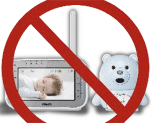 no wireless baby monitor with teddybear
