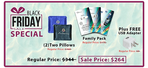 Black Friday Special with pillows and family pack
