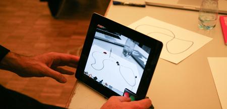 ISMAR11 - Demos Race in iPad2