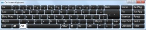 teclado virtual windows