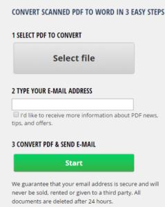 convertir pdf a word gratis