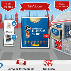 album virtual panini rusia 2018