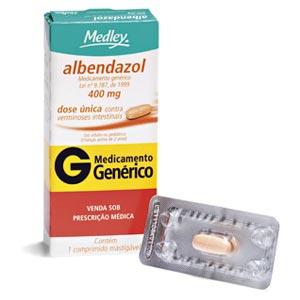 Albendazol dose unica