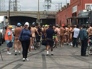 World Naked Bike Ride - Los Angeles