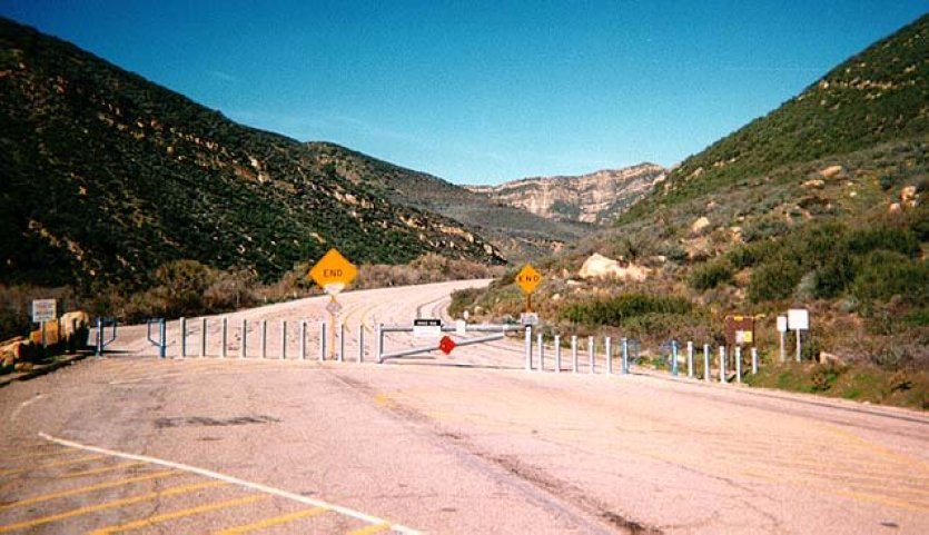 Piru Creek Old Road