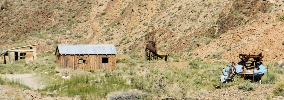 One of many abandoned mines in the area.