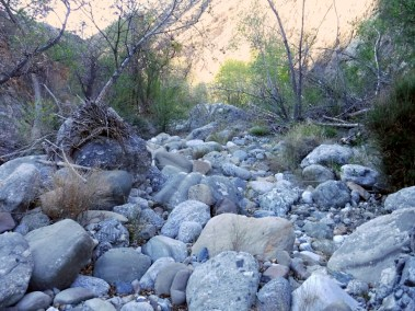 Piru Creek rocks