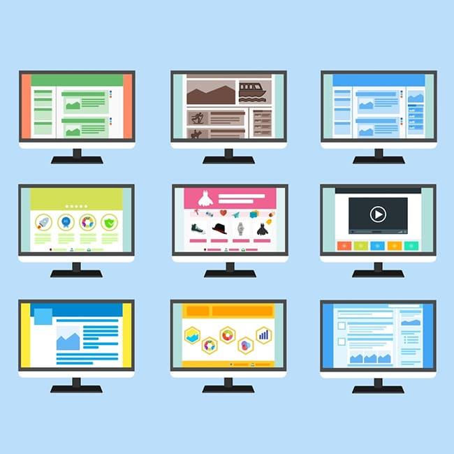 como planificar y diseñar un sitio web tipos