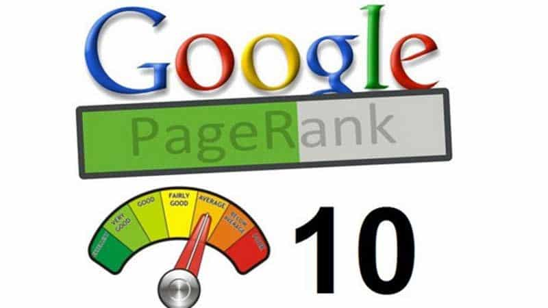page rank y click gap