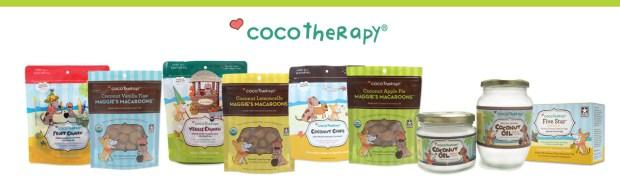 Produits Coco Therapy - noix de coco