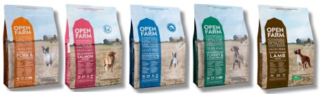 open farm dog food line